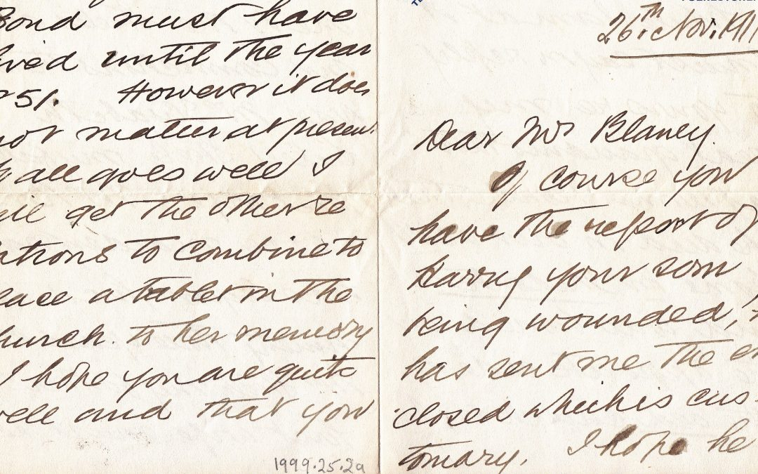 Sir Sam Steele: Letters from the Past