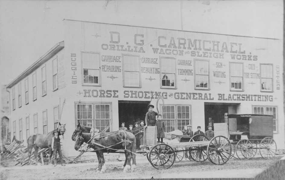 D.G Carmichael - Orillia Wagon Sleigh Works