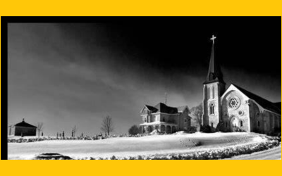Is St. Columbkille's Church in Uptergrove haunted?
